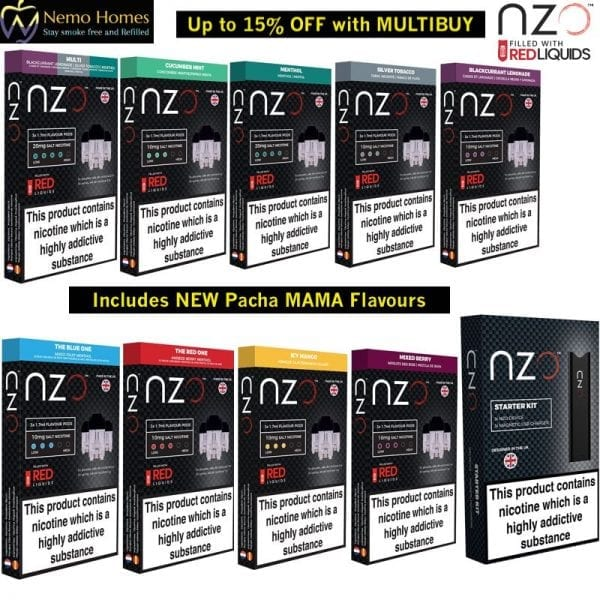 NZO Pods and Starter Kit