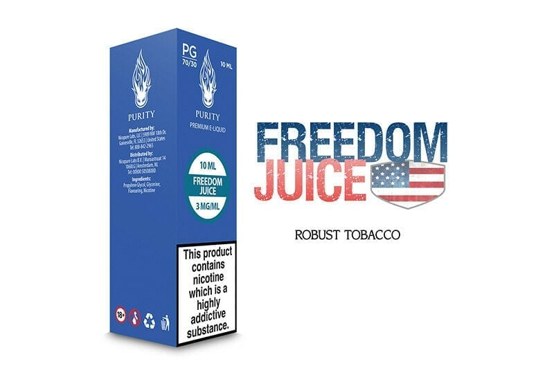 Halo Purity Tobacco Flavour  E-Liquid  E Juice  Premium Vape Oil Refil  PG  & VG
